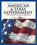 Essentials of American and Texas Government 2006, Larry J. Sabato and Stefan D. Haag, 0321365208