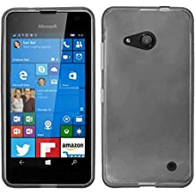 HR Wireless Carrying Case for Nokia Lumia 550 - Retail Packaging - Smoke