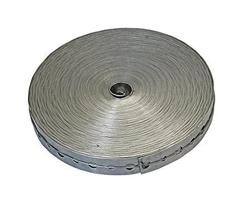 American Valve AV301700 100-Feet Roll Galvanized Hanger Tape - Plumbing Galvanized Pipe