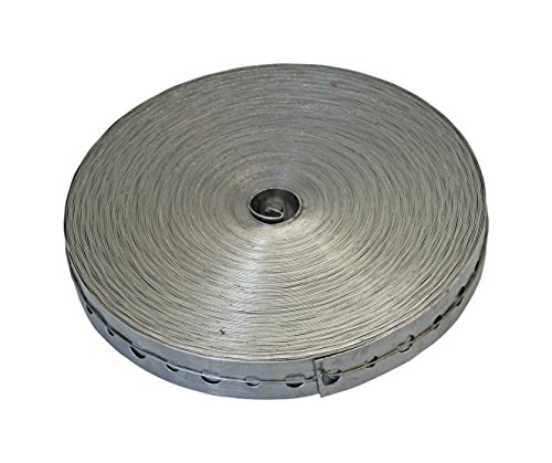 Roll Metal - American Valve AV301700 100-Feet Roll Galvanized Hanger Tape