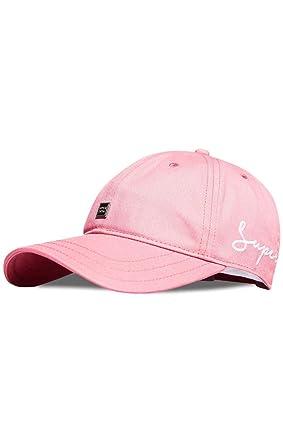 4cdeebef5 Superdry Women's Script Baseball Cap, Rosa (Pink 22R), One Size