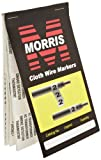 Morris Products 21274 Wire Marker Booklet, Cloth, Burglar Alarm Markings