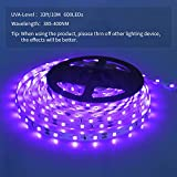 SHPODA 33ft LED Black Light Strip Kit,600