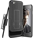iPhone 6 PLUS Belt Case,Slider Kickstand Case & Belt Clip Holster [Slim Fit Design + Scratch Resistant R60 Coating][Thin/Durable Protection for Apple iPhone 6 Plus 5.5inch]