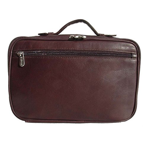 Piel Leather Hanging Cosmetic Utility Bag by Piel Leather