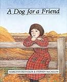 A Dog for a Friend, Marilynn Reynolds, 1551430207