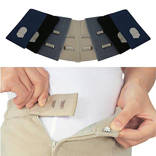Jeans Taille Jupe 2 À Crochets nbsp;noir Ou Extensions Medipaq® nbsp;beige 1 De Pantalon Pour xqRw0xpng