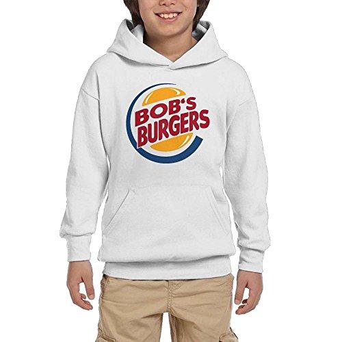 Big Girls'/Boys' Bob's Burgers Cute Hoodie,Youth Leisure Pullover Sweatshirt
