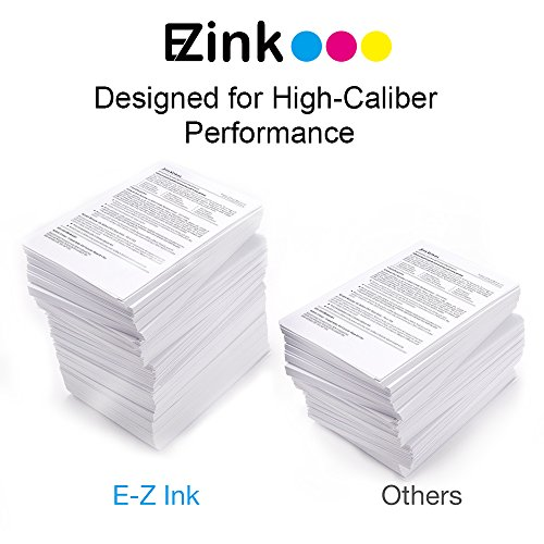 E-Z Ink (TM) Remanufactured Ink Cartridge Replacement for Epson 220XL 220 XL Compatible with Epson WF-2760 WF-2750 WF-2630 WF-2650 WF-2660 XP-320 XP-420 XP-424 (2 Black, 1 Cyan, 1 Magenta, 1 Yellow)