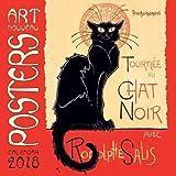 Art Nouveau Posters Wall Calendar 2018 (Art Calendar)