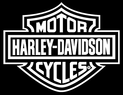 Amazon com chroma graphics harley davidson logo cutz rear window decal harley davidson automotive