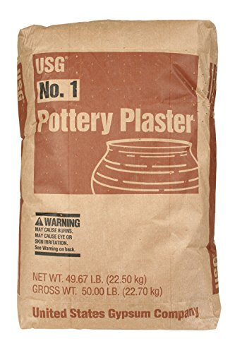 AMACO Pottery Plaster, 50 lbs.