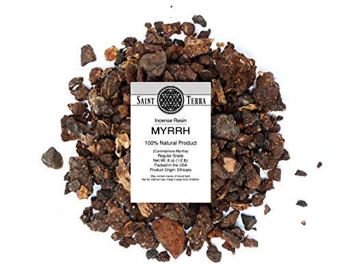Saint Terra - Myrrh Incense Resin, 8 Ounces ()