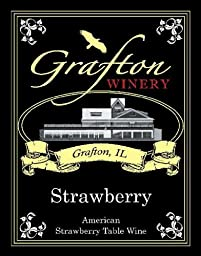 NV The Grafton Winery Strawberry Wine 750 mL