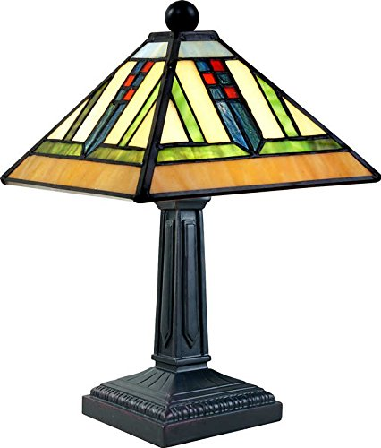 rafts Mission Style Tiffany LAMP TLE-R8361 ()