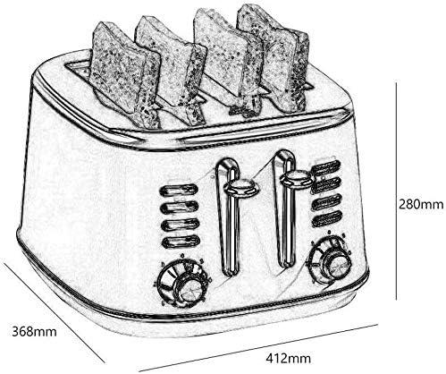 LQUIDE Machine à Pain Automatique, Machine à Pain Automatique avec programmes, Machine à Pain programmable avec Maintien au Chaud