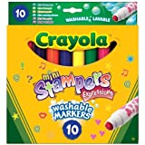Crayola 10 Mini Stampers Expressions by Crayola