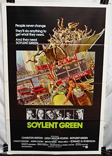 Soylent Green (1973) Original US 27x41