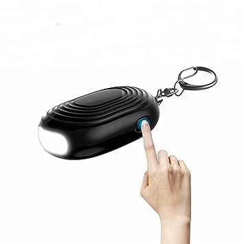 JHKJ Alarmas personales de Emergencia con luz LED con ...