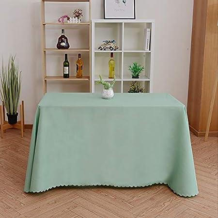 AQZMEA - Mantel para Hotel, Color Liso, diseño de Falda de Mesa ...