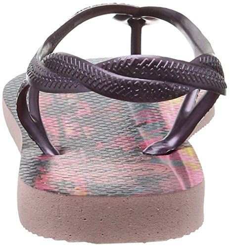 Havaianas Luna Havaianas Femme Pink Sandales Pearl Print Sandales Multicolore dwIOxqn7dp