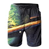 100% Polyester New Style Star Man Short Pants