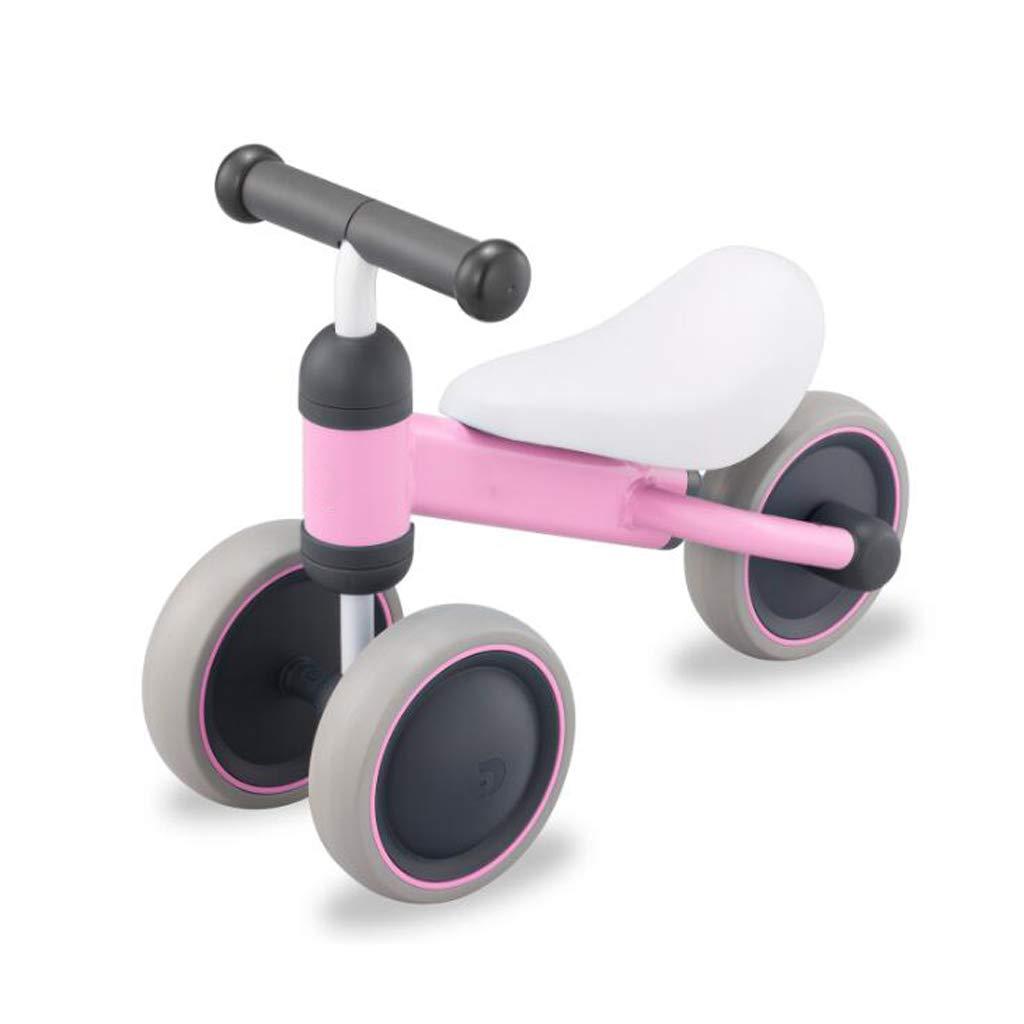 子供のバランスの車のスライド車のおもちゃのスライドヨーヨー車の幼児の足の幼児 LCSHAN (Color : ピンク) ピンク