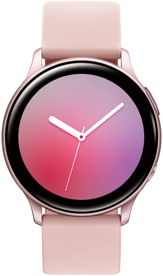 Samsung Galaxy Watch Active2 (40mm, GPS, Bluetooth), Pink Gold (US Version)