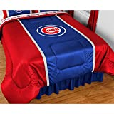 MLB Chicago Cubs Comforter Sidelines Baseball Bedding