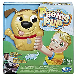 Hasbro Gaming Peeing Pup Game Fun Interactive Game for Kids Ages 4 & Up