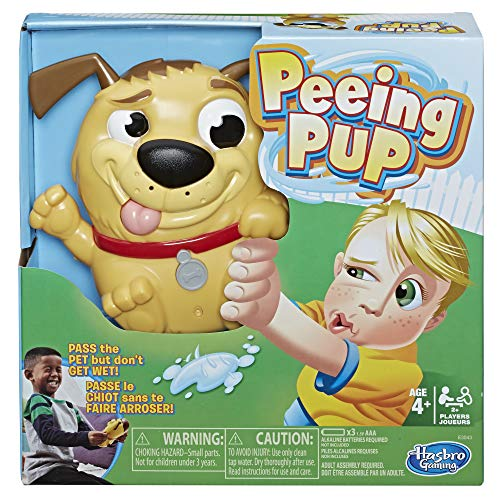 Hasbro Gaming Peeing Pup Game Fun Interactive Game for Kids Ages 4 & Up]()