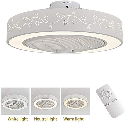 Ventilador LED Ventilador de techo Luz de techo LED con control ...