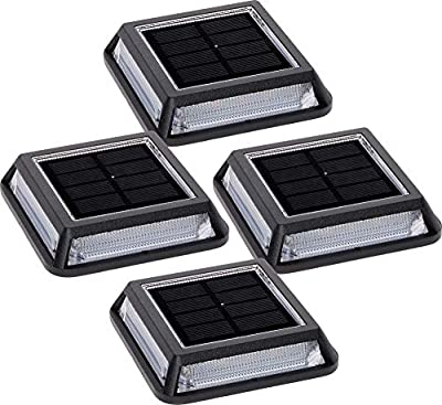GreenLighting Solar 26 Lumen Path, Dock & Deck Light with White SMD LEDs (4 Pack)