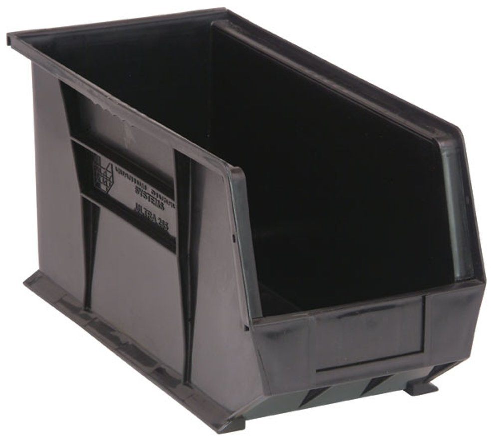 Quantum Storage Systems Hang/Stack Bin, Recycled, Load Cap 60 Lb by Quantum Storage Systems