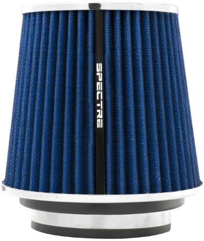 """BLUE 2004 UNIVERSAL 89mm 3.5/"""" INCHES AIR INTAKE FILTER"""