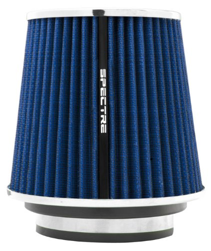 - Spectre Performance 8136 Universal Clamp-On Air Filter: Round Tapered; 3 in/3.5 in/4 in (102 mm/89 mm/76 mm) Flange ID; 6.719 in (171 mm) Height; 6 in (152 mm) Base; 4.75 in (121 mm) Top