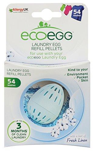 Ecoegg Laundry Egg 54 Wash Refill Soft Cotton (Best Eco Nappies Uk)