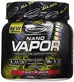 MuscleTech naNO Vapor, Hardcore Pre-Workout Formula, Fruit Punch, 1.04 lbs (474g)
