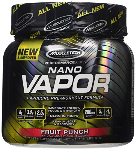 MuscleTech Vapor Hardcore Pre Workout Formula