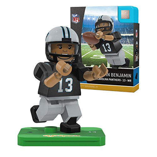NFL Carolina Panthers Gen4 Limited Edition Kelvin Benjamin Mini Figure, Small, White