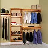 John Louis Home 12 in. Depth Simplicity Closet Organizer