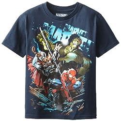 Marvel Boys' Downforce T-Shirt