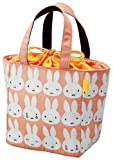 miffy Insulated lunch bag (with drawstring) MF232 (japan import) by Kutsuwa