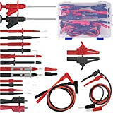 Multimeter Test Lead Kits, Replaceable Digital Multimeter Accessories, Electronic Professional Test Lead Probe Alligator Clips