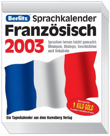 Französisch, Sprachkalender m. Audio-CD 2009