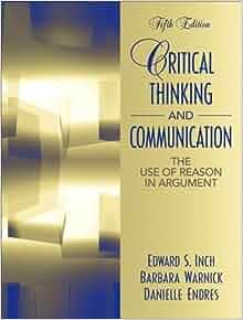 inch warnick critical thinking and communication
