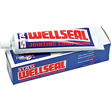 Hermetite Stag Wellseal Jointing Compound 100ML Tube