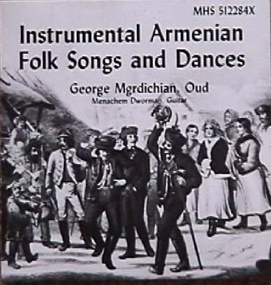 Instrumental Armenian Folk Songs and Dances