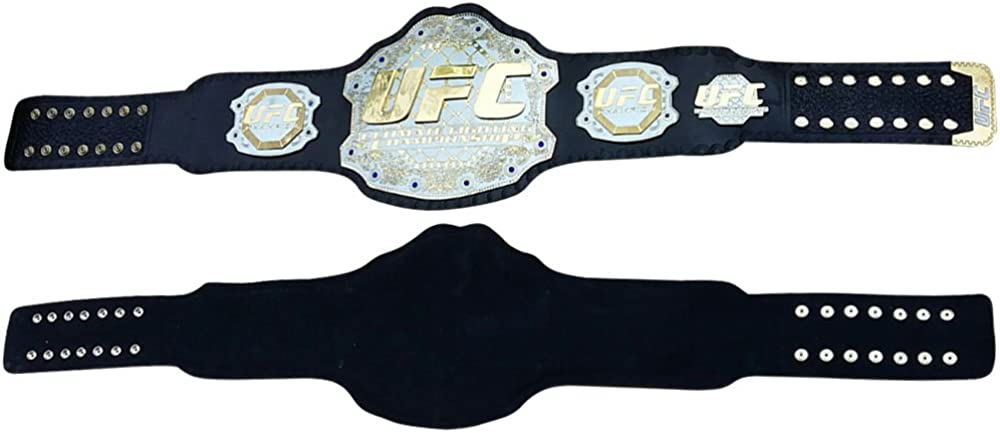 UFC Championship Belt Ultimate Fighting Replica Belts Adult Size Genuine Leather