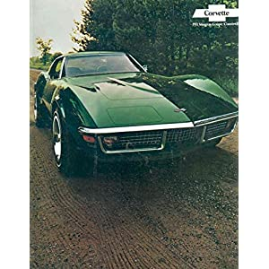 1971 Chevrolet Corvette Stingray Sales Brochure